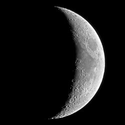 Луна Октябрь 2018